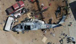 Niega Sedena que sitio de desplome de helicóptero en Jamiltepec…