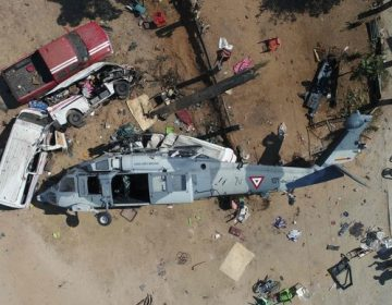 Niega Sedena que sitio de desplome de helicóptero en Jamiltepec era albergue