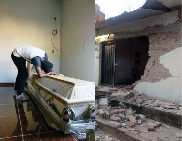 13 muertos y daños materiales en la Costa de Oaxaca, luego del sismo con epicentro en Pinotepa