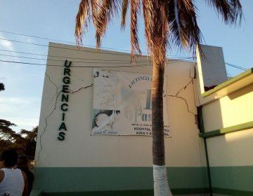 """Temblor remueve estructuras y recuerdos de negligencias del hospital de Jamiltepec; autoridades descartan """"daños mayores"""""""