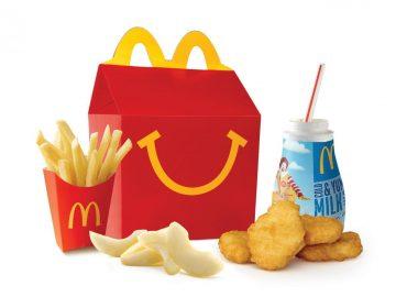 """McDonald's pone a dieta la """"cajita feliz"""" y elimina dos productos de su menú"""