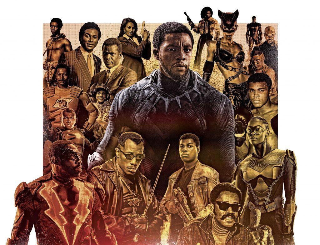 Actriz Porno Con Boina black panther y otros héroes negros reales e imaginarios que