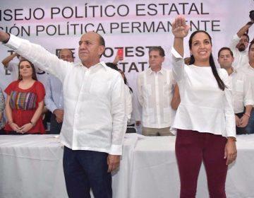 Jorge González y Mariana Nassar asumen dirigencia estatal del PRI