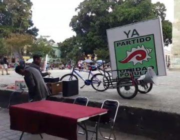 Saúl Ulises Cortés Maldonado usa al Sindicato Independiente de Salud para hacer campaña del PUP