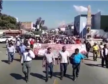 Las protestas del miércoles 21 de febrero de 2018