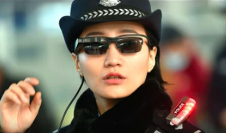 La policía china usa gafas de reconocimiento facial para encontrar criminales al instante