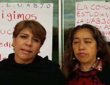 150 trabajadores de la UABJO exigen reubicación; no laboran desde el terremoto 7-S