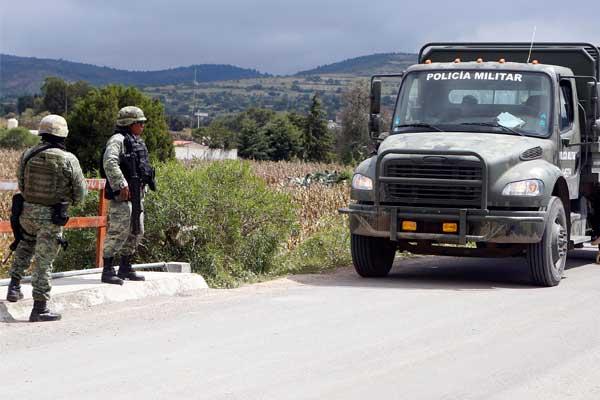 Ejército de seguridad nacional y no de defensa