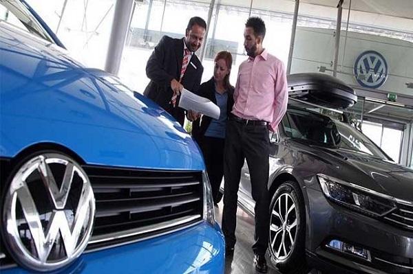 Caen 15.4% ventas de VW a inicio de año en nuestro país
