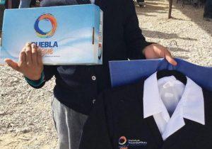 Seguirá entrega de calzado escolar en Puebla: SEP