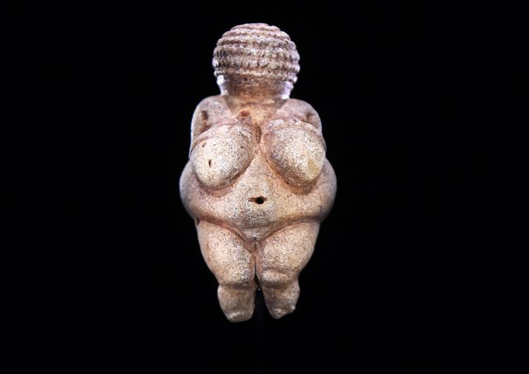 Facebook Venus Willendorf estatuilla