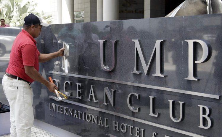 Panamá letrero hotel trump desalojan Fintiklis