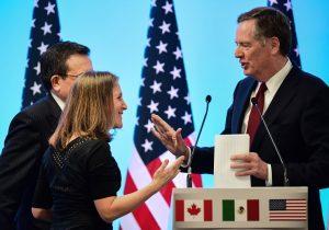 Negociadores cierran tres capítulos del TLCAN; no logramos el progreso esperado, dice EE. UU.