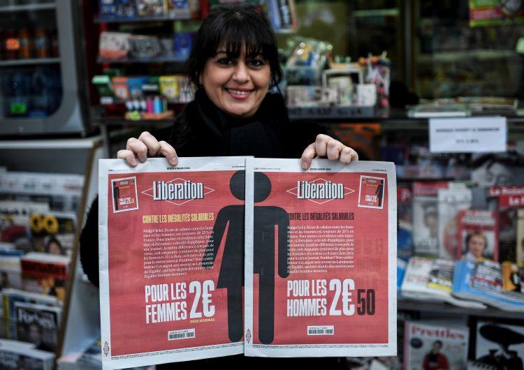 Libération, el diario francés que costará 25% más a los hombres para mostrar la brecha salarial