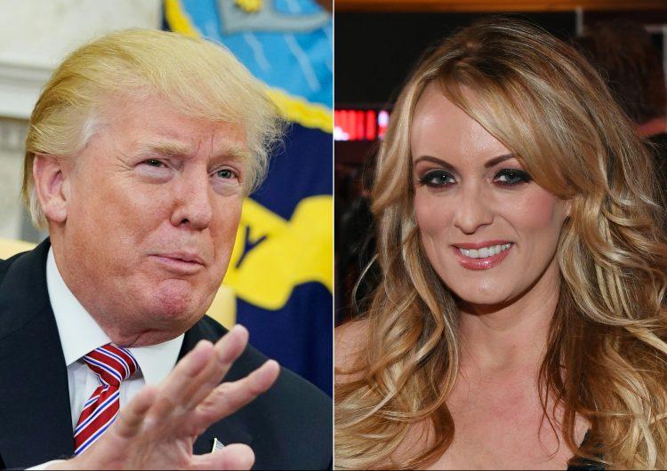"""La actriz porno Stormy Daniels comenzó una """"relación íntima"""" con Trump a mediados de 2006."""