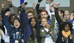 Los poderosos discursos de estudiantes sobrevivientes de tiroteos en la…