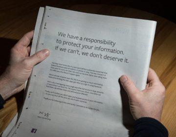 Facebook se disculpa en periódicos de EE. UU. y Reino Unido por caso Cambridge Analytica