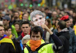 Detienen en Alemania a Puigdemont; independentistas se manifiestan en España