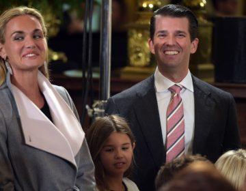 La esposa de Donald Trump Jr. le pide el divorcio