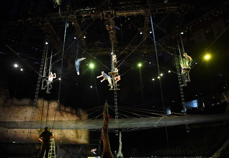 acróbata cirque du soleil muere presentación