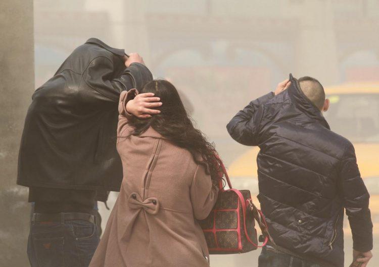 La calidad del aire en China alcanza niveles peligrosos por smog tóxico