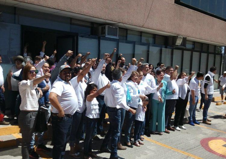 Presentó PANAL a candidatos a cargos federales ante el INE; deja fuera a Reynoso Femat