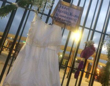 """""""No fue suicidio, fue feminicidio"""", exigen justicia para Odalis en SLP"""