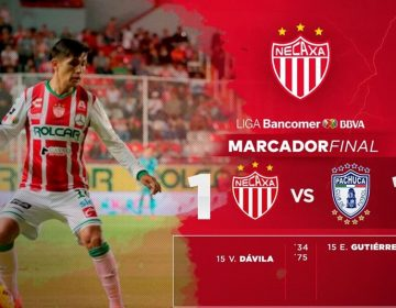 Con 10 jugadores Rayos salvan un punto contra Pachuca