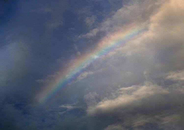 El arcoíris con más duración rompe un nuevo récord Guinness (VIDEO)