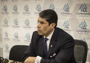 Critica Coparmex falta de apoyo al sistema anticorrupción