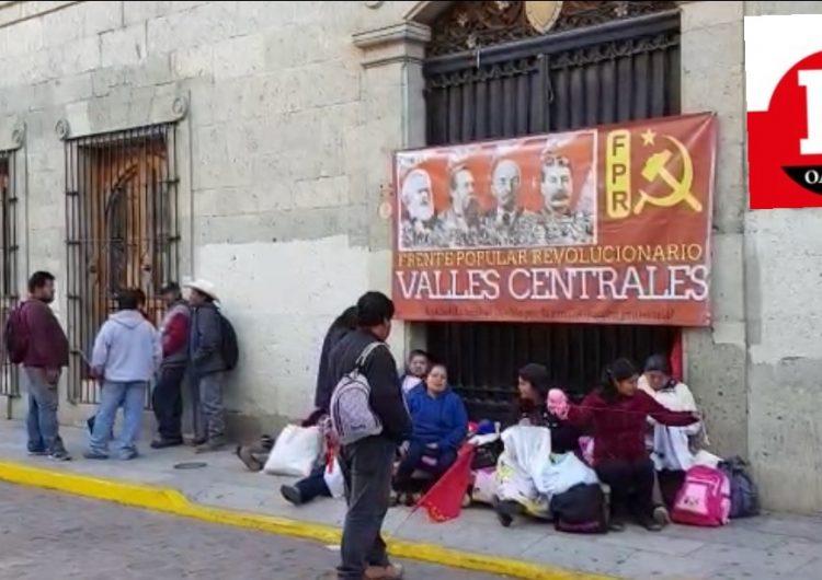 Con 3 bloqueos, FPR exige diálogo directo con Alejandro Murat para que se cumplan compromisos