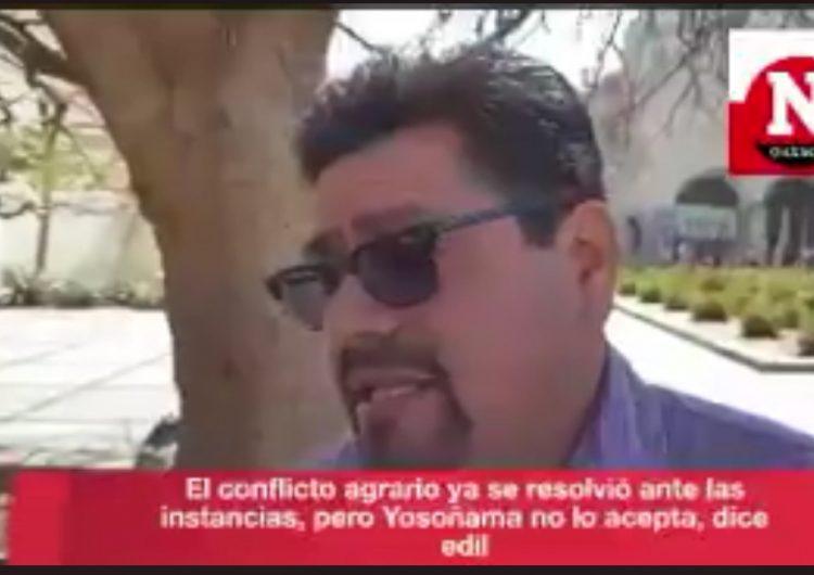 800 hectáreas afectadas lleva incendio activo en San Juan Mixtepec por agresiones de Yosoñama, alerta edil; Antorcha Campesina puede estar tras ataque