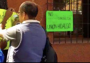 Calvo Ziga miente; a habitantes de Unión Hidalgo no los han consultado sobre aerogeneradores de eólica EDF