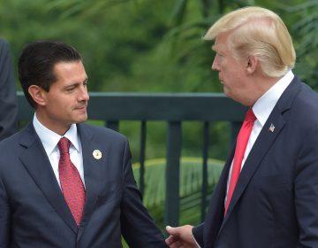 """""""¿Estás loco?"""", la respuesta de Trump a la petición de Peña Nieto sobre el muro"""