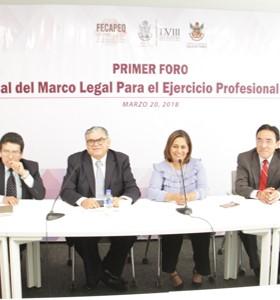 Analizarán marco normativo del ejercicio de profesiones del estado de Querétaro mediante un foro