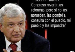 La frase que nunca dijo López Obrador en la entrevista con Milenio