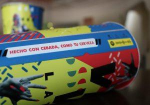 """""""Hecho con cebada, como tu cerveza"""": así serán los vasos en el Vive Latino"""