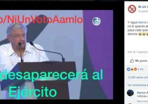 ¿López Obrador desaparecerá al Ejército?