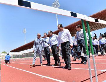 Anuncia Gobierno 129 mdp para infraestructura deportiva