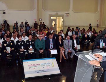 Inaugura gobernador quinta reunión de convivencia escolar