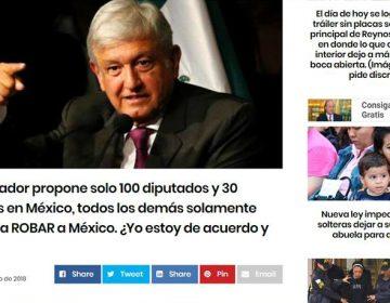 No es propuesta de Morena reducir el número de diputados y senadores