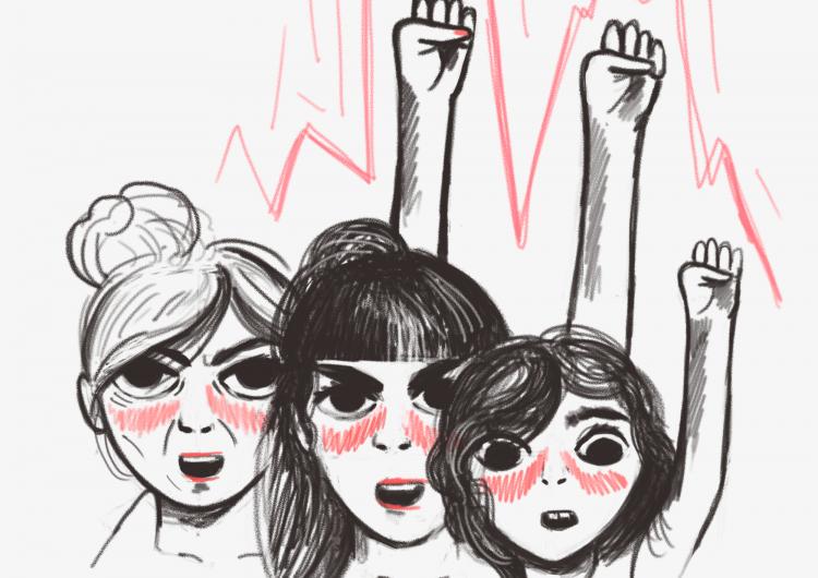 La marcha de las mujeres: ellas son la generación que luchará en el futuro