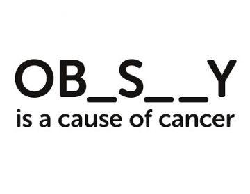 ¿Puede una campaña contra el cáncer afectar a personas con sobrepeso?