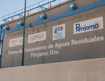Estabilización de Planta de Tratamiento de Aguas Residuales de Pénjamo durará dos meses