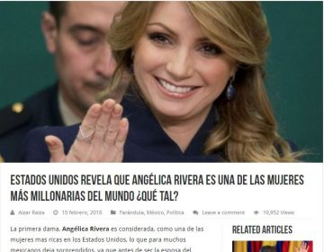 Forbes no publicó que Angélica Rivera es de las mujeres más ricas del mundo