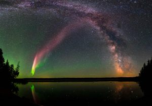 """""""STEVE"""", una misteriosa aurora descubierta por un científico aficionado en Canadá"""