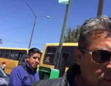 Ataca policía a periodista de SLP; reportero lleva varias agresiones en su contra