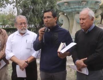 """""""Fracking"""" es la más violenta explotación de recursos naturales, protestan sacerdotes de NL"""