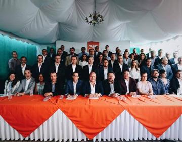 Alfaro presenta equipo de campaña y recorrerá 12 municipios de Jalisco por semana