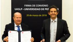 La UASLP firma convenio con la Université de Perpignan Via…